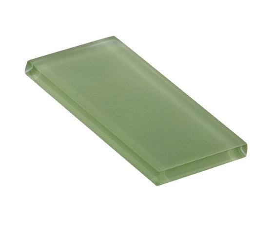 Glasstints | willow green matte de Interstyle Ceramic & Glass | Carrelage en verre