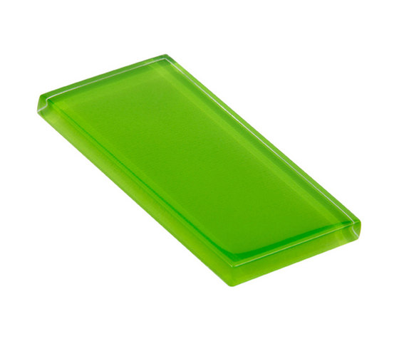 Glasstints | bright green glossy de Interstyle Ceramic & Glass | Carrelage en verre