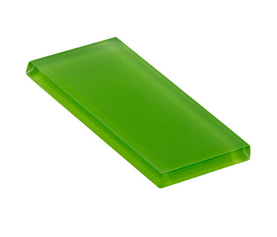 Glasstints | bright green matte by Interstyle Ceramic & Glass | Glass tiles