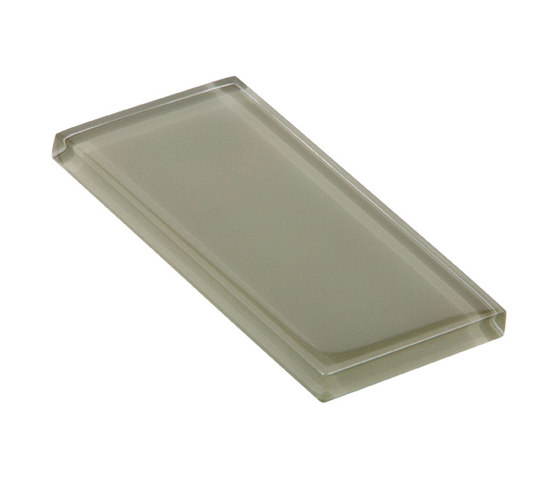 Glasstints | heathered green glossy by Interstyle Ceramic & Glass | Glass tiles