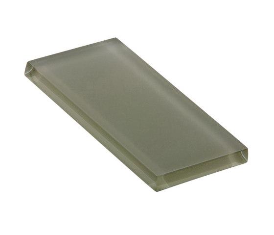 Glasstints   heathered green matte de Interstyle Ceramic & Glass   Carrelage en verre