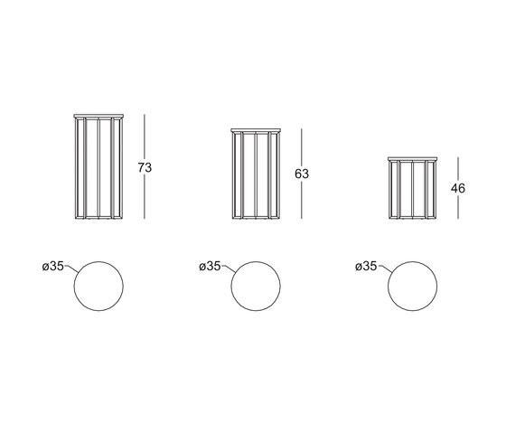 Elliot Coffee Table by black tie | Side tables