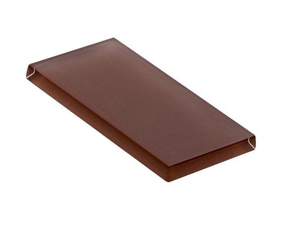 Glasstints | mahogany brown matte di Interstyle Ceramic & Glass | Piastrelle vetro