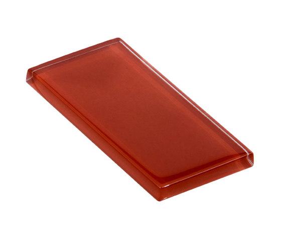 Glasstints | firebrick glossy de Interstyle Ceramic & Glass | Carrelage en verre