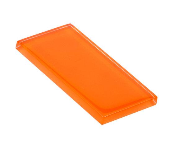 Glasstints | orange mineral glossy de Interstyle Ceramic & Glass | Carrelage