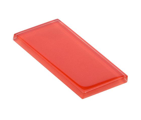 Glasstints   tango red glossy di Interstyle Ceramic & Glass   Piastrelle vetro