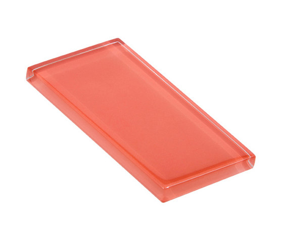 Glasstints | salmon roe glossy de Interstyle Ceramic & Glass | Carrelage en verre