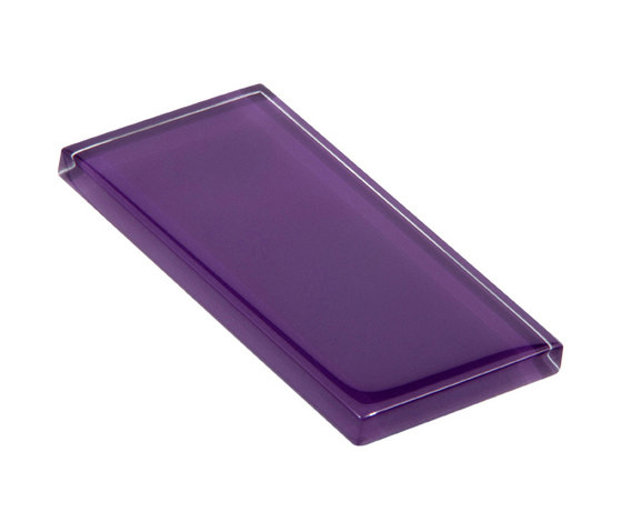 Glasstints | royal purple glossy di Interstyle Ceramic & Glass | Piastrelle vetro
