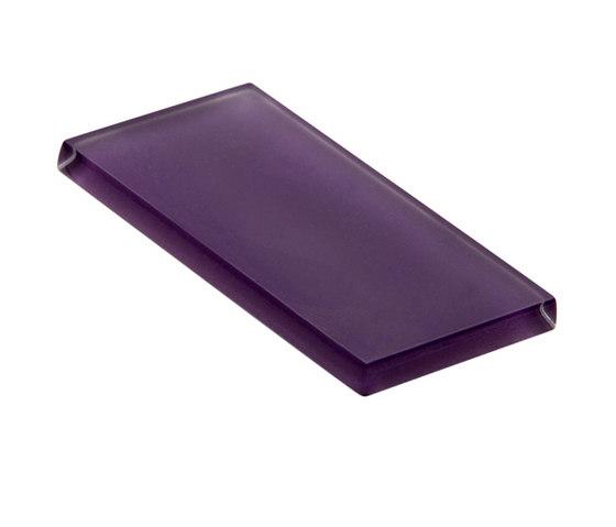 Glasstints | royal purple matte de Interstyle Ceramic & Glass | Carrelage en verre