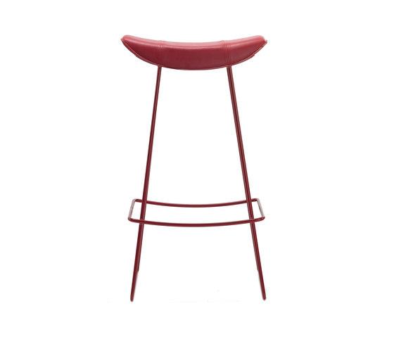 Kya | Barstool with wire frame by Freifrau Sitzmöbelmanufaktur | Bar stools