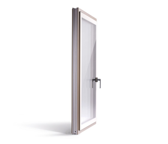 FIN-Project Step-line Cristal by Finstral   Patio doors