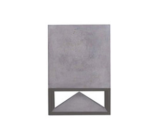 Cube concrete grey by Architettura Sonora | Speakers