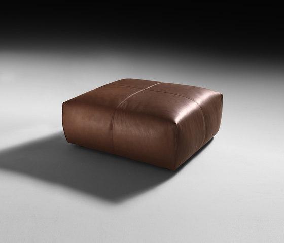 Cubo Pouf di black tie | Pouf