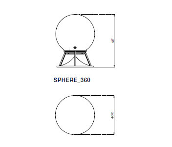 Sphere 360 premium stones by Architettura Sonora | Speakers