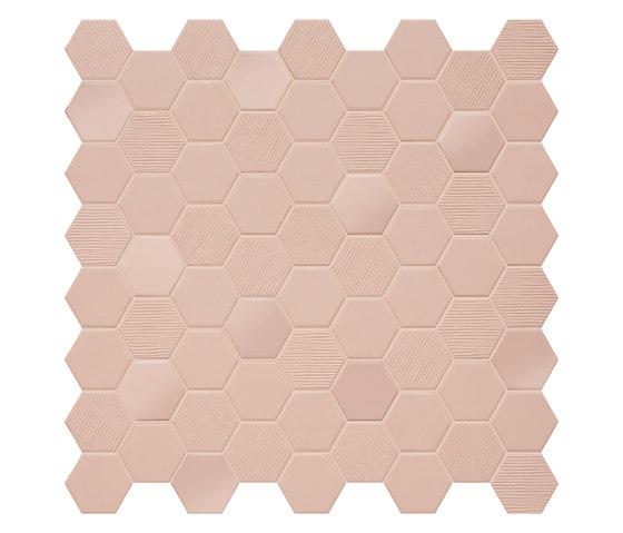 Betonstil Hexa Rosy Blush di TERRATINTA GROUP | Piastrelle ceramica