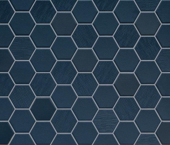 Betonstil Hexa Deep Navy de TERRATINTA GROUP | Carrelage céramique