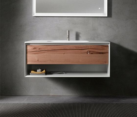 45º furniture | UP • series 1200 wall-mount vanity by Blu Bathworks | Vanity units