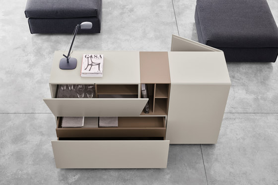 Brick | storage unit by CACCARO | Sideboards