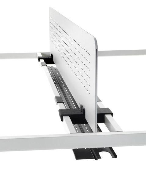 Clavis von Tecno | Tischpaneele