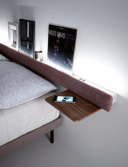 Groove letto comodini caccaro architonic for Cap villa del conte