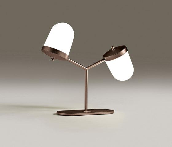 Lula lampe à poser petite double de Penta | Luminaires de table