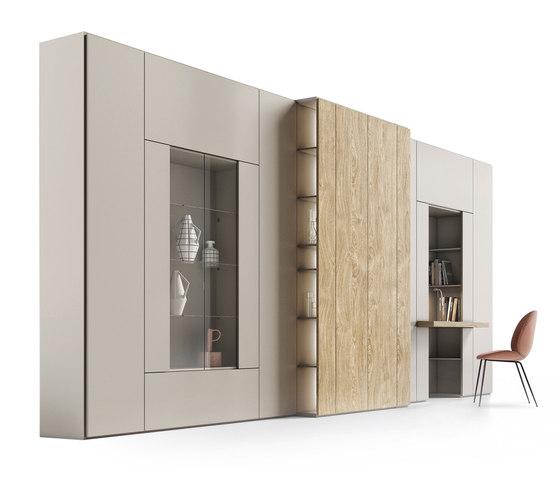 Roomy | showcase + desk module de CACCARO | Armarios