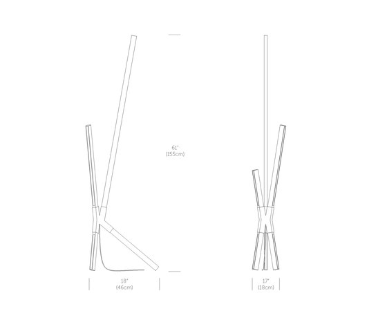 Middle Bang Floor/Table Lamp di STICKBULB   Lampade tavolo