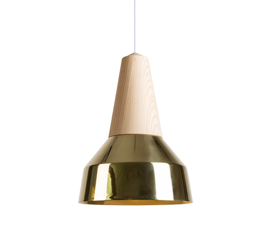 Eikon Ray Ash Brass by SCHNEID | Suspended lights