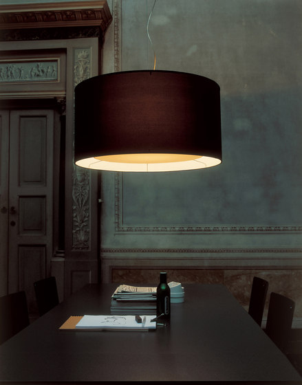 Fabric Pendants - Cylinder by Penta | General lighting