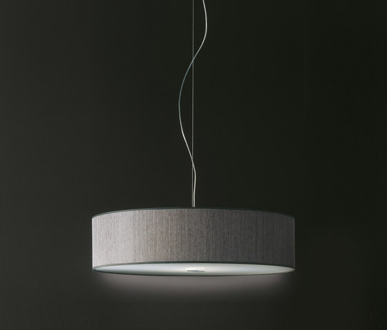 Fabric Pendants - Cylinder by Penta | Suspended lights