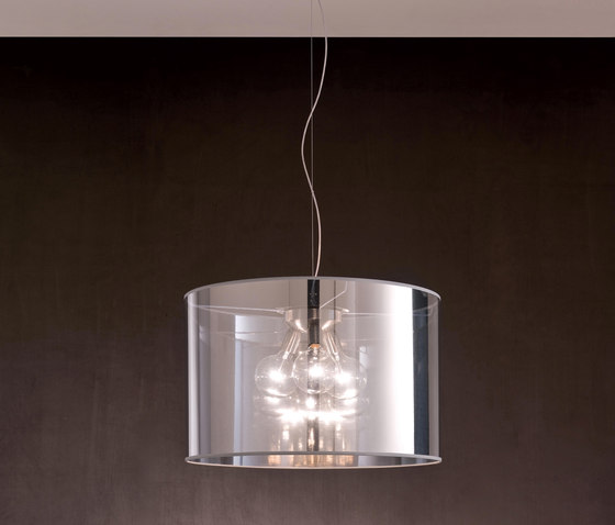 Fabric Pendants - Mirroring PVC Pendants by Penta | Suspended lights