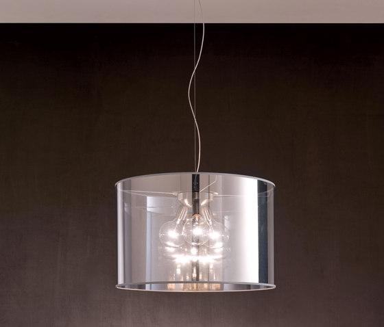 Fabric Pendants - Mirroring PVC Pendants by Penta | General lighting