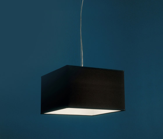 Fabric Pendants - Square by Penta | Suspended lights