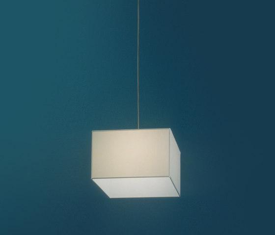 Sospensioni in tessuto - quadrato di Penta | Illuminazione generale