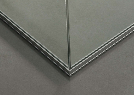 DV602-Single glass 03 by DVO | Wall partition systems