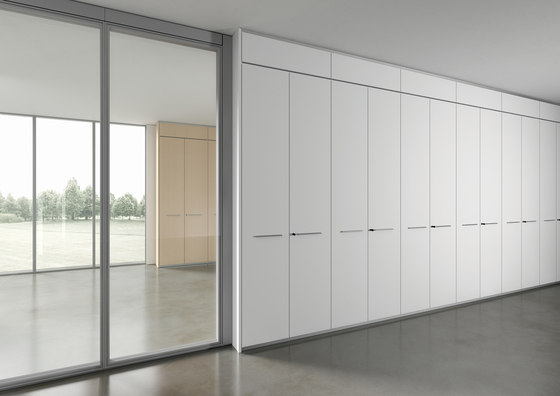 DV605-Storage wall 02 de DVO | Sistemas de mamparas