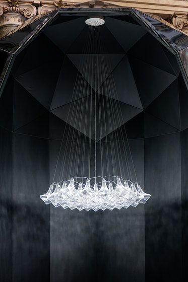 Facet by LASVIT   Suspended lights