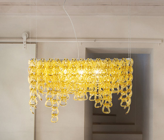 Minigiogali SP CLO by Vistosi   Suspended lights