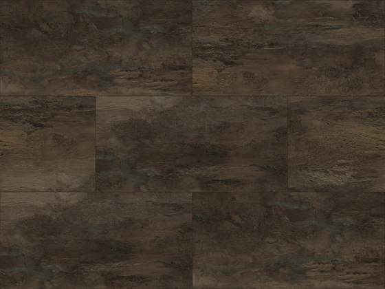 Lithic Stone - Dark Brown by Aspecta | Plastic flooring