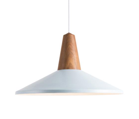 Eikon Shell Walnut Ice Blue by SCHNEID | General lighting