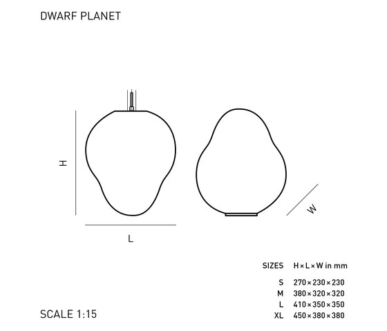 DWARF PLANET de ELOA | Éclairage général