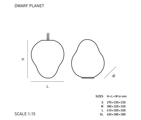 DWARF PLANET by ELOA | General lighting