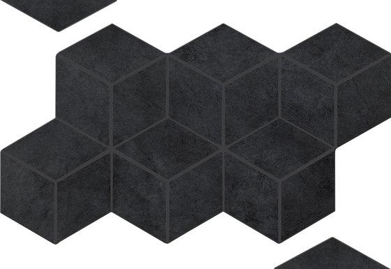 Basic Black | BA1730B von Ornamenta | Keramik Fliesen