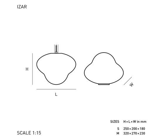 IZAR de ELOA | Lámparas de sobremesa