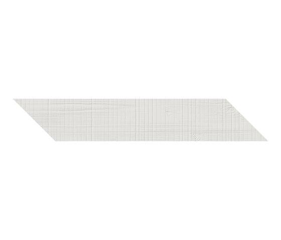 Wood' n Would | Snow Herringbone von Ornamenta | Keramik Fliesen