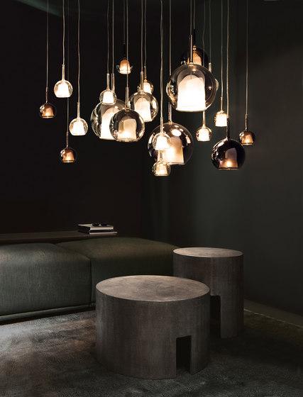 Glo round plate max 20 fittings di Penta | Illuminazione generale