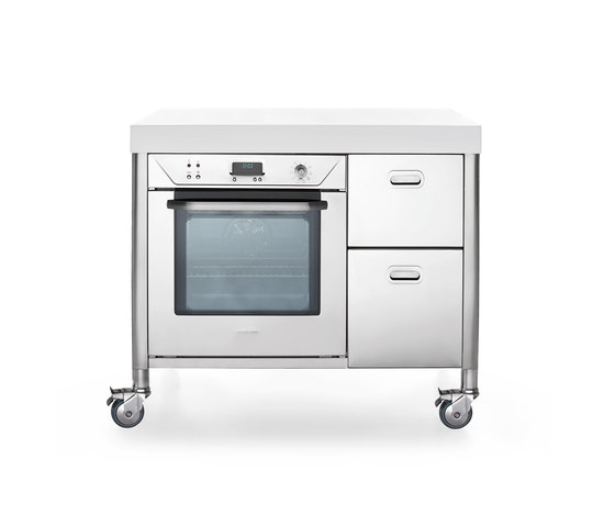 100 Kitchen Carts by ALPES-INOX | Mobile kitchen units