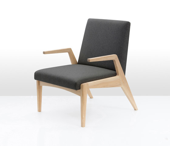 Armchair R-1378 by POLITURA | Lounge chairs