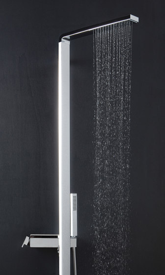 Dinamica by Aquademy | Shower columns / panels