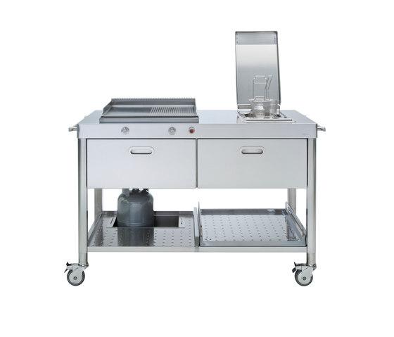 Outdoor 130 Kitchens by ALPES-INOX | Modular kitchens